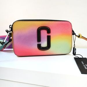 NEW Marc Jacobs Airbrush Snapshot Camera Bag